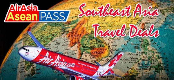Hãng Air Asian có mặt ở nhiều nước trong khu vực Đông Nam Á