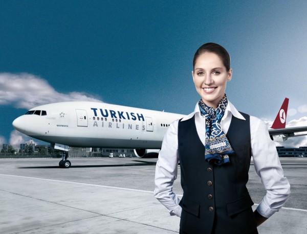 Hãng hàng không quốc gia Turkish Airlines của Thổ Nhĩ Kỳ, có trụ sở chính ở thành phố Istanbul