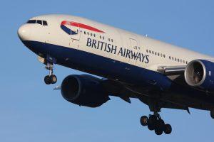 Hãng hàng không British Airways khai thác các chuyến bay từ Vietnam đi Anh