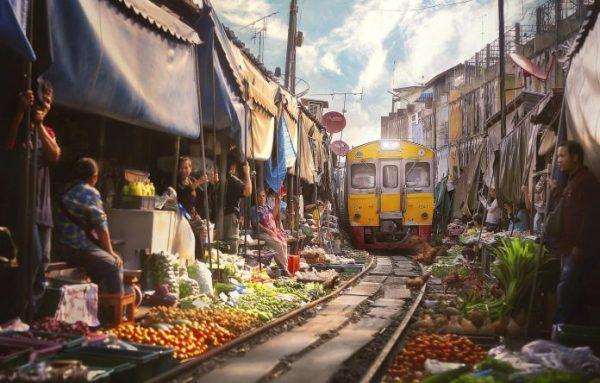 Một cảnh đẹp bình dị ở Bangkok