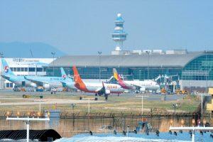 Sân bay Gimhae là sân bay quốc tế ở Busan Hàn Quốc
