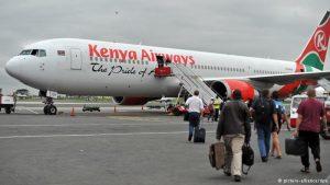 Hiện nay hãng hàng không Kenya khai thác các chuyến bay từ Việt Nam đi Hà Nội và Sài Gòn
