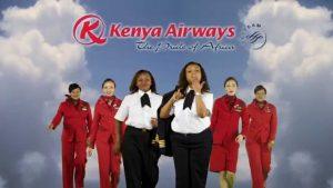 Kenya Airlines là hãng hàng không nổi tiếng ở Châu Phi