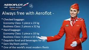 Những quy định về hành lý của hãng Aeroflot