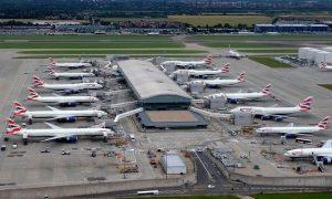 Heathrow là sân bay quốc tế tại thủ đô London- một trong 3 sân bay nhộn nhịp nhất thế giới