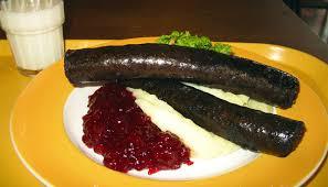 Xúc xích đen Mustamakkara đặc sản ảm thực Phần Lan