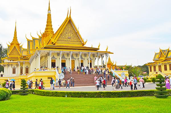 Chùa Vàng, chùa Bạc ở Campuchia