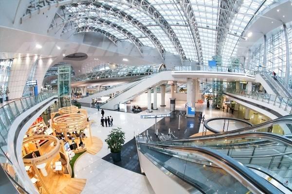 Rộng, đẹp, hiện đại là những từ để sân bay quốc tế Doha