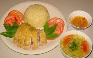 Hấp dẫn món cơm gà Hải Nam