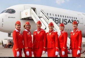 Aeroflot là hãng hàng không của nước Nga