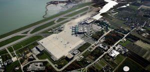 Toàn cảnh sân bay Leonardo da Vinci