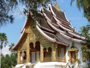 Chùa Wat Mai là niềm kiêu hãnh của người dân Luang Prabang