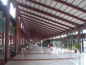 Một nhà ga tại sân bay quốc tế Jakarta, Indonesia