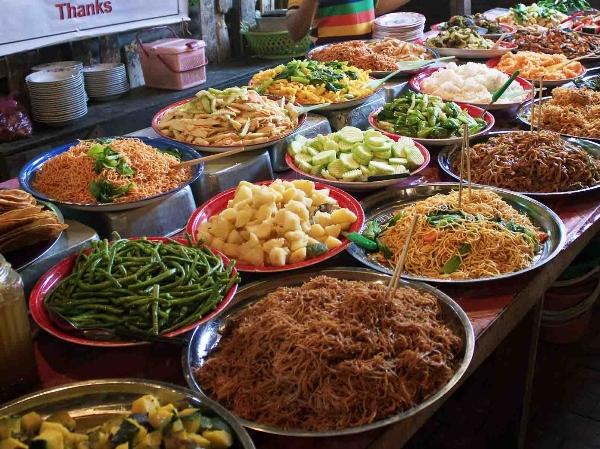 Hấp dẫn,đa dạng các món ăn ở Luang-prabang-lao
