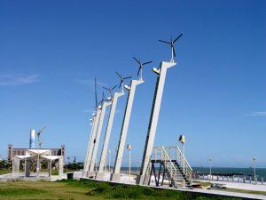 Những cối xay gió trên đảo Cijin Cao hùng