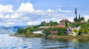 Vẻ đẹp thanh bình của hồ Toba, Indonesia
