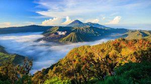 Núi lửa Bromo là một trong những điểm đến tuyệt vời ở Indonesia