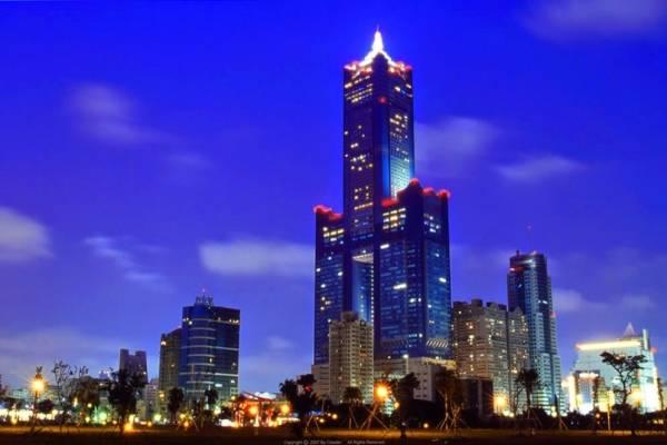 Tòa nhà 85 tầng nổi bật ở Cao Hùng, Đài Loan