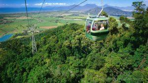Cáp treo Skyrail -nơi bạn ngắm trọn toàn bộ khu rừng nhiệt đới Daintree