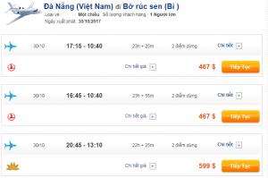 Vé máy bay Đà Nẵng đi Bỉ