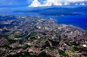 Toàn cảnh thanhf phố Davao ở Philipphines