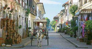 Vigan là một thị trấn thuộc tỉnh Ilocos Sur của Phillipines với những nét kiến trúc đọc đáo mang đậm phong cách Châu Âu
