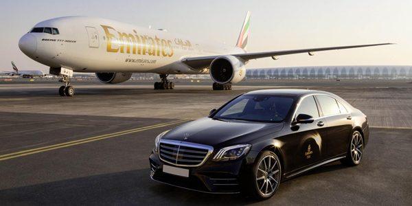 Khoang hạng nhất hãng bay Emirates phong cách Mercedes S-Class