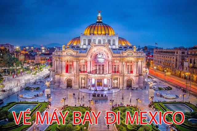 Vé Máy Bay Đi Mexico
